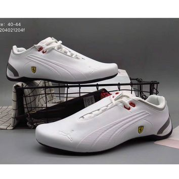 Puma men Ferrari limited edition limited edition sports shoes F-A36H-MY White