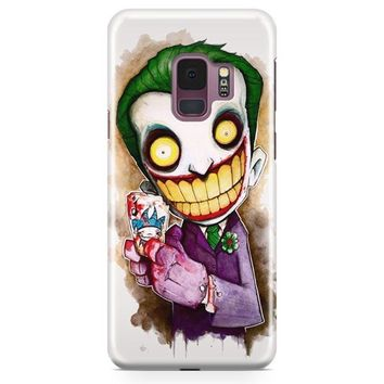 Joker Cartoon Samsung Galaxy S9 Case | Casefantasy