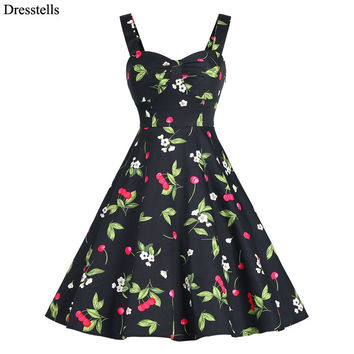 Cheap prom Dress Straps Sleeveless Retro Vintage 1950s 60s Short Party Dress Big Plus Size Cocktail Dress estidos De Noche