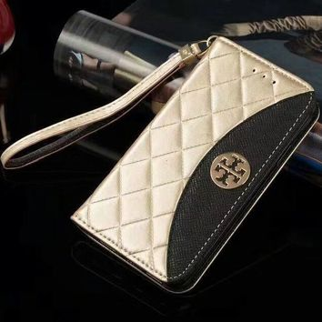 Tory Burch Phone Cover Case For Samsung s7edge s8 s8+ note 8 iphone 6 6s 6plus 6s-plus 7 7plus 8 8plus X