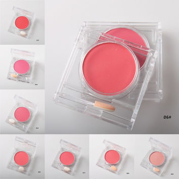 Beauty Makeup 7 Colors Professional Cheek Blush Powder Soft Nature Rouge Glossy Face Blush