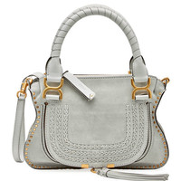 Chloe Marcie Small Double-Carry Satchel Bag