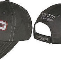 Toyota TRD Racing new black with red and silver trim ball cap