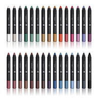 Set of 30 Colors Multi-Use Chunky Pencils Eye Shadow Eyeliner Lip Liner Lipstick Vitamin E & Aloe Vera