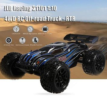 Remote Control RC Racing 100 km/h 1:10 4 WD RC Brush less Off-road Truck