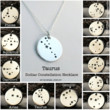 Zodiac Constellation Necklace- Sterling Silver Chain & Pendant