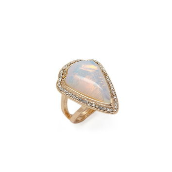 Faux Stone Arrowhead Ring | Forever 21 - 1000152265