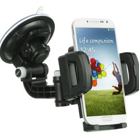 Universal Locking Car Mount for Smartphones