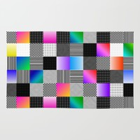 Mondrian Couture Rug by Dood_L