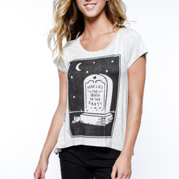 Glamour Kills - Here Lies Drape Tee