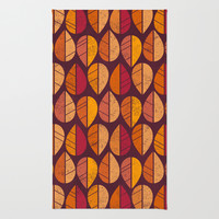Fall Colors Rug by ChunkyDesign