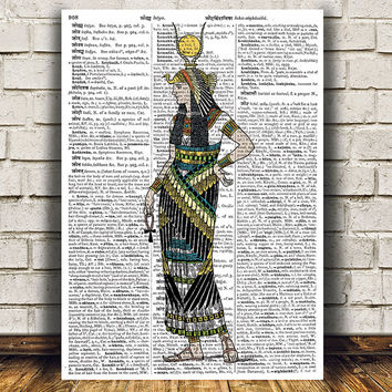 Egypt poster History print Egyptian print Ancient decor RTA957