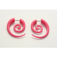 18 Gauge Fake Spiral 2 Pk in Stuff to Wear Body Jewelry Faux Tapers & Plugs