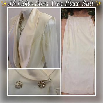 ✨JS Collections Two Piece Formal Dress, US Size 8