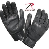 Rothco Leather Tactical Gloves, Black, X-Large
