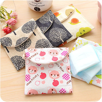 Storage Cute Pattern Hygiene Lovely Cotton = 4877844420