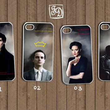 Iphone 4 / 4s hard or rubber case /choose one/  by FeerieDoll