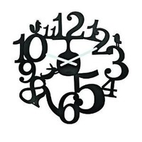 Koziol PIP Wall Clock Black