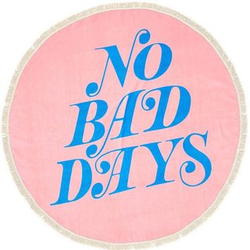 No Bad Days All Around Giant Circle Towel by Bando