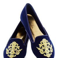 Emblematic Behavior Flat | Mod Retro Vintage Flats | ModCloth.com