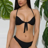 Playa Del Carmen Swimsuit- Black