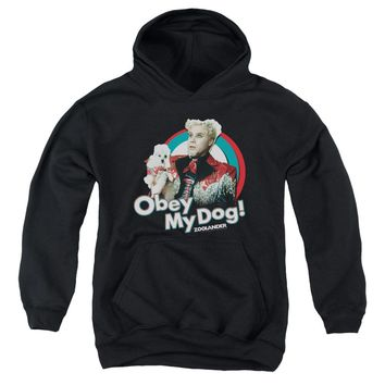 Zoolander - Obey My Dog Youth Pull Over Hoodie