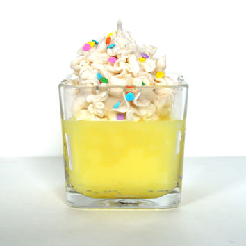 Birthday Cake Scented Gourmet Jar Candle