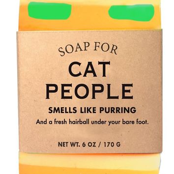 Cat People Warm Milk Scented Soap - Smells Like Purring