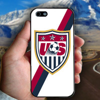 USA Soccer - Print on hard plastic case for iPhone case. Select an option