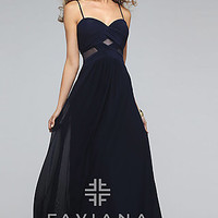 Faviana Spaghetti Strap Sweetheart Dress