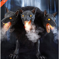 2.5' Cerberus 3 Headed Dog - Spirithalloween.com