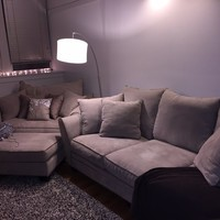 3 Seater Couch with Oversized One Seater