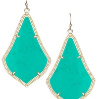 Alexandra Earrings in Teal - Kendra Scott Jewelry