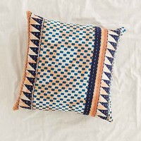 4040 Locust Tacona Pillow- Dark Blue One