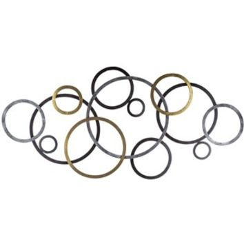 Tuscan Bronze Metal Connecting Circle Wall Decor | Shop Hobby Lobby