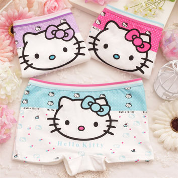 Roupas Infantis Menina 2 Pcs Baby Girl Child's For Underpants Shorts Nurseries Children's Boxer Underwear Kids Panties Cgub 2068