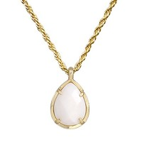 Kiri Necklace in White Pearl - Kendra Scott Jewelry