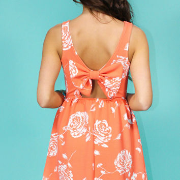Honey Bee Bow Back Dress