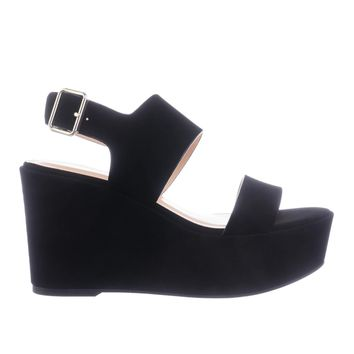 Sailor Women Platform Wedge Dress Sandal w Thick Adjustable Ankle Strap