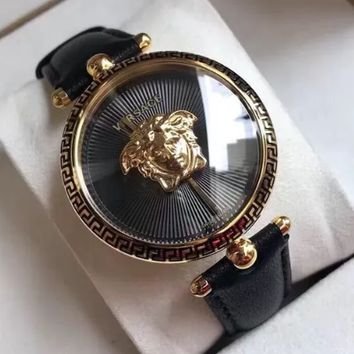 Free shipping-Versace Tide brand casual wild quartz watch