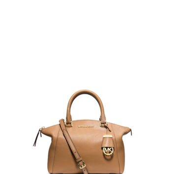 MICHAEL Michael Kors Satchel - Riley Small Pebble | Bloomingdales's