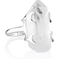 Underworld Clear Quartz Ring