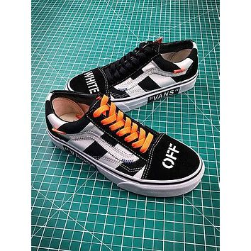 Off White X Vans Vault Og Style 36 Style 2 Low Canvas Shoes