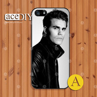vampire Paul Wesley, Phone cases, iPhone 5 case, iPhone 5s case, iPhone 4 case, iPhone 4s case, Cover Skin, Case for iPhone, Skins--A51134