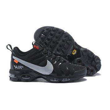 Nike Air Max Plus Tn Ultra x Off-White Black Running Shoes - Best Deal Online