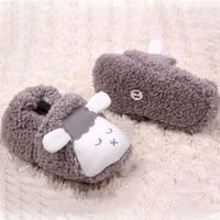 Winter Baby Boys Girls Warm Plush Booties Infant Indoor Soft Slipper Crib Shoes
