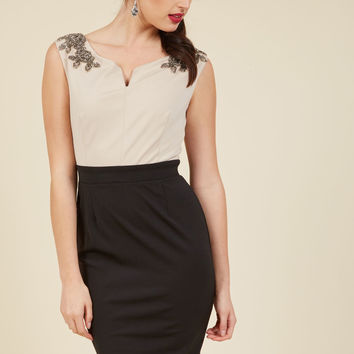 Affinity for Fancy Sheath Dress | Mod Retro Vintage Dresses | ModCloth.com