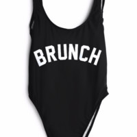 Brunch High Cut One Piece