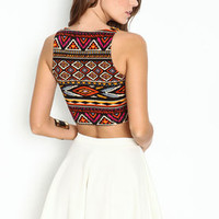 Southwest Crop Top - LoveCulture