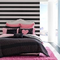 Betsey Johnson Bedding 'Punk Princess' Comforter Set,